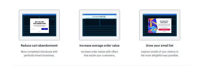 sumo popup tool image example ecommerce