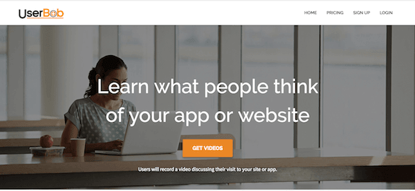 userbob cro tool usability testing