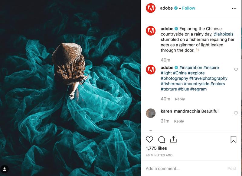 visual-content-example-adobe-instagram-post
