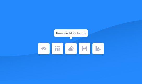 remove all columns
