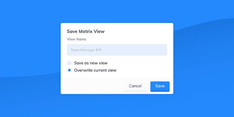 Save View Matrix