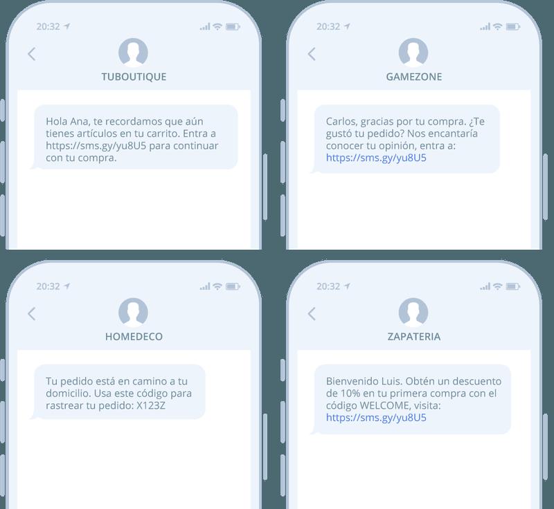 SMS para Shopify