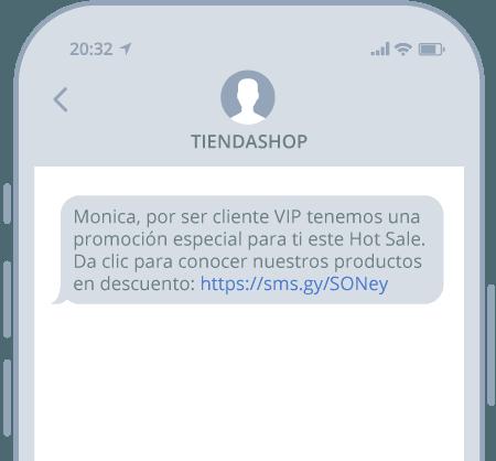 SMS para Hot Sale 2021