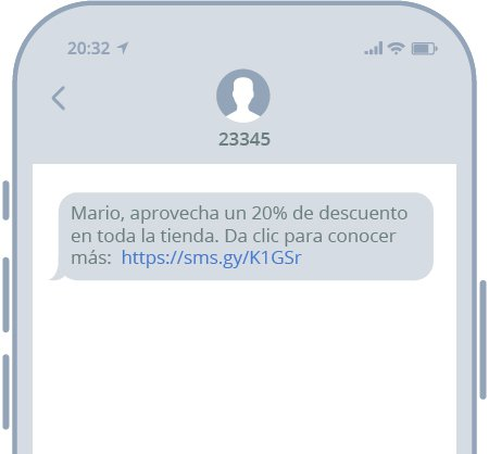 Rebajas por SMS