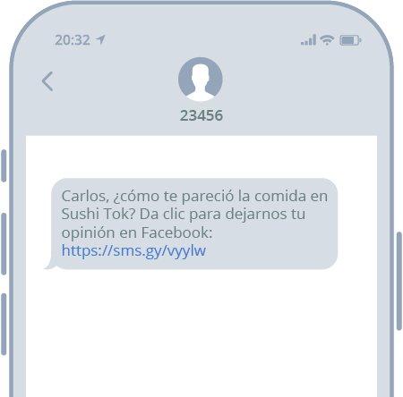 Experiencia del cliente por SMS