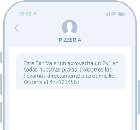 SMS para ventas a domicilio