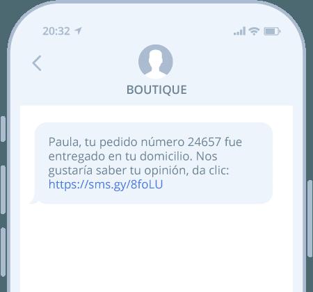 SMS por API