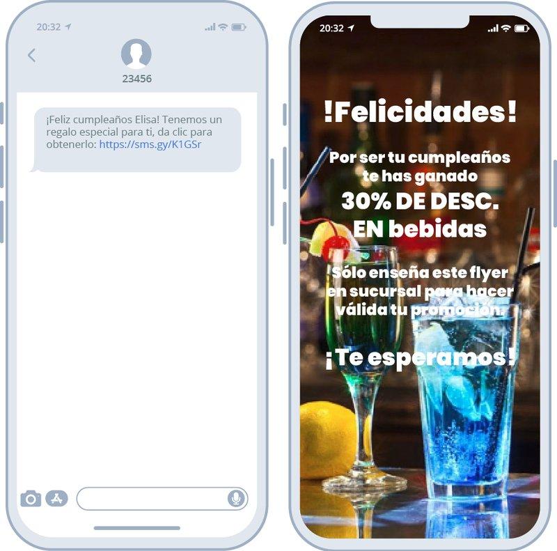 Mejorar imagen de marca por SMS