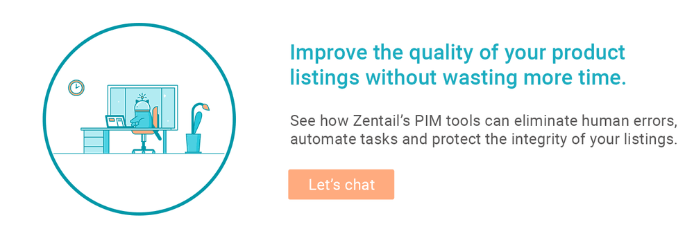contact form for zentail's product information management tools