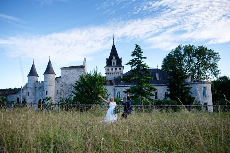 find the perfect french chateau wedding venue - chateau de lisse outside