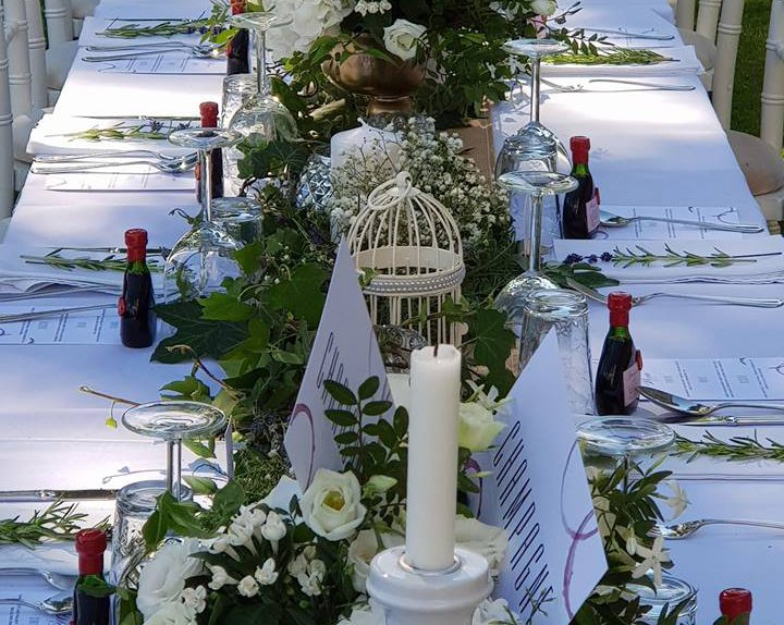 the impeccable pear - table flower decoration