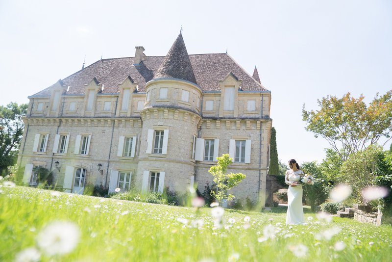 wedding in france chateau plombis