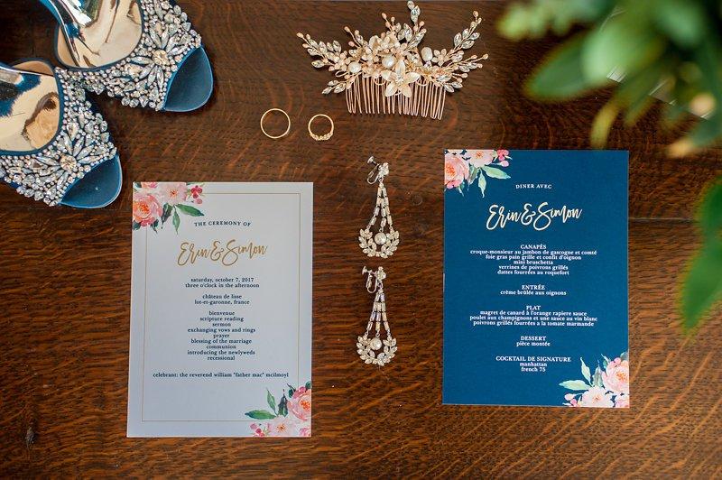 wedding in france colour palette