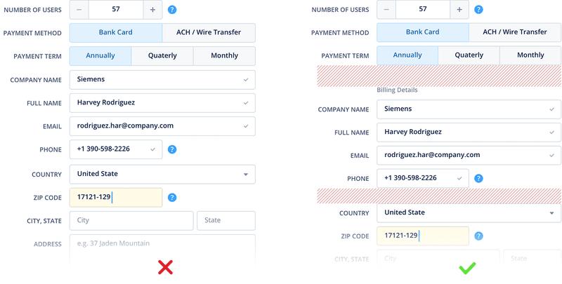 Formulários e usabilidade