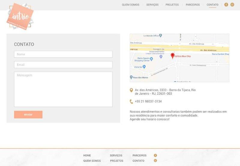 Interface final de projeto em Product Design de Juliana Nieri, aluna do bootcamp MID