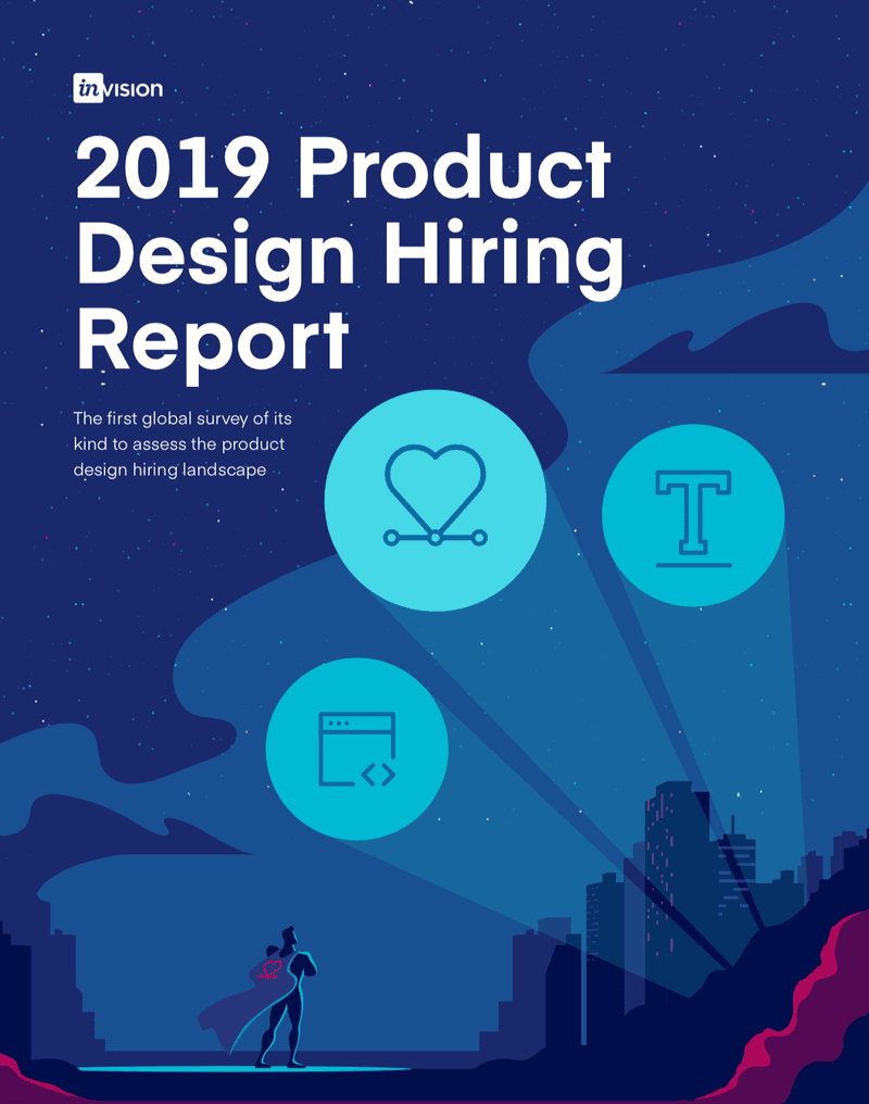 Product Design Hiring Report Cover