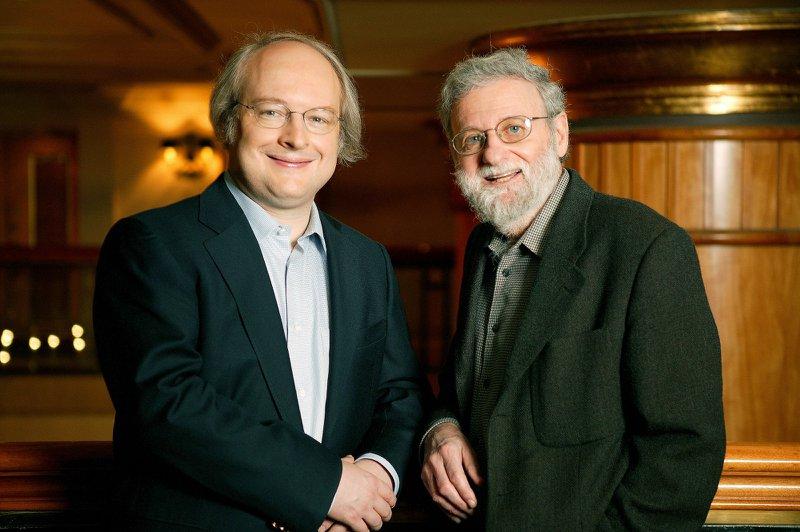 Foto de Nielsen e Norman, pais do UX Design
