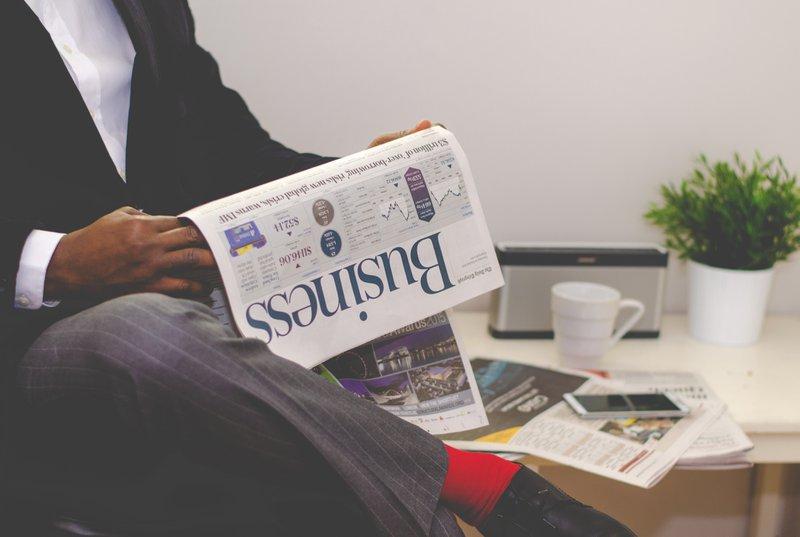 Lendo sobre Negócios no Jornal
