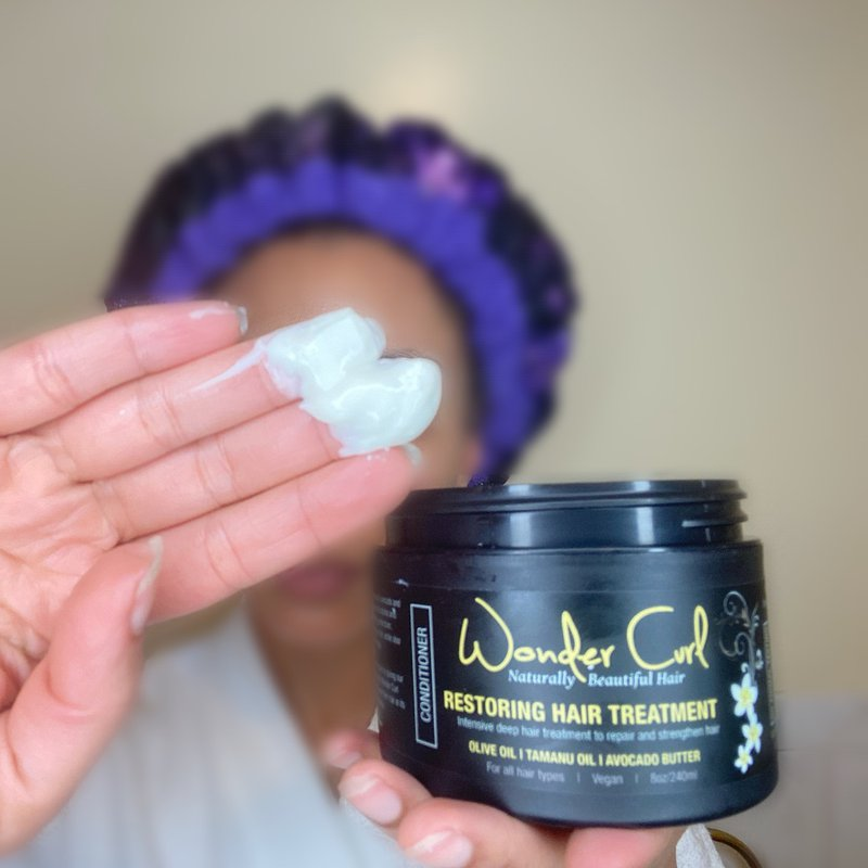 restoring hair treatment for deep conditioning