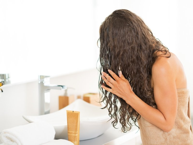 air drying not the healthiest for hair