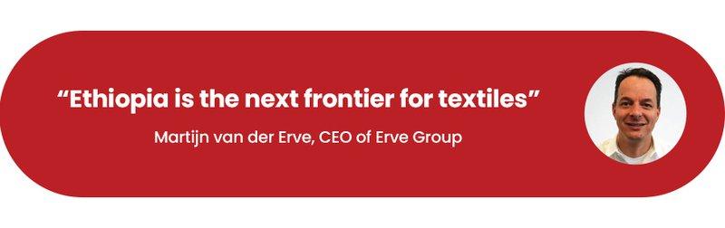 Martijn van der Erve - CEO Erve Group