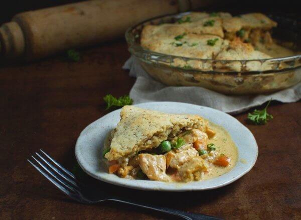 Keto/Gluten Chicken Pot Pie Recipe
