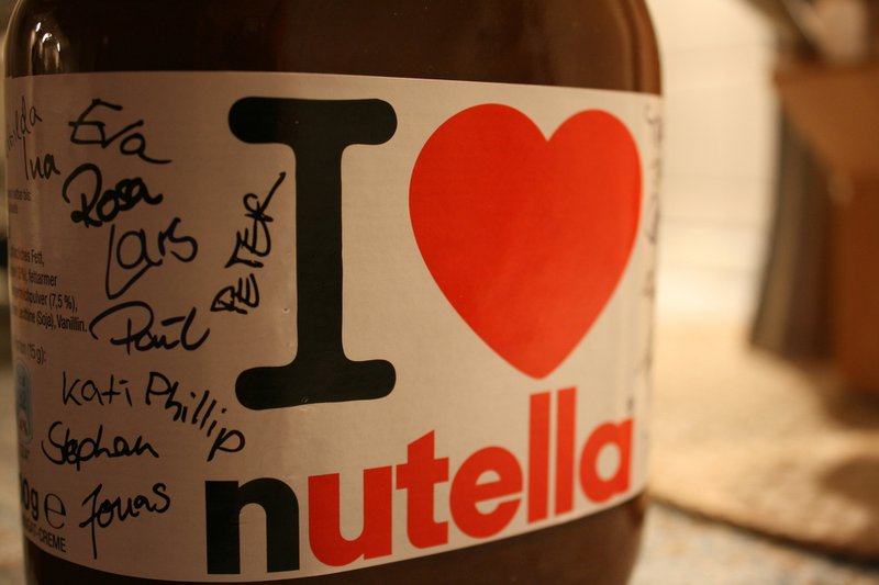 healthy nutella