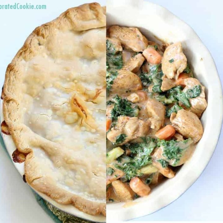 Smoky Chipotle Chicken and Kale Pot Pie  Recipe