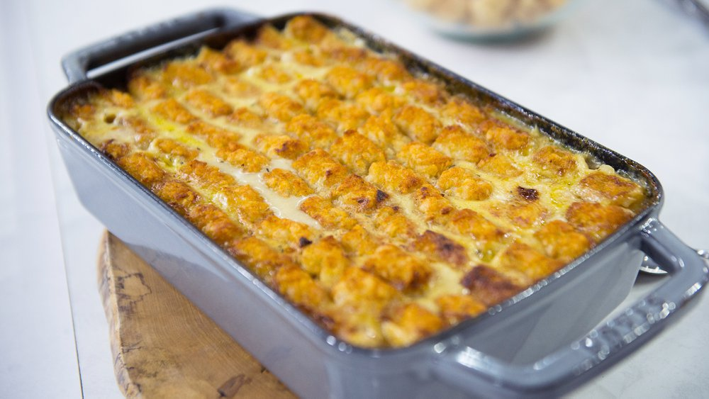Tater Tot Topped Chicken Pie Recipe