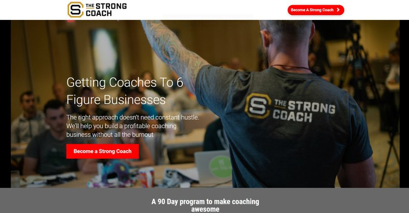 What Got Blake Interested In The Strong Coach Program