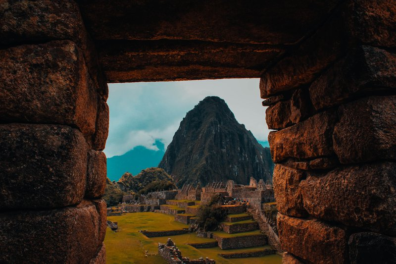 Portrait to Machu Picchu