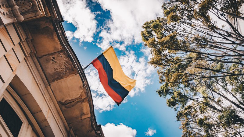 I was walking through the Downtown of Bogota, race my head and i see this view. I couldnt let this moment go and i think that the movement of the colombian flag shows what Colombia and how the colombian people are. Happy and always dancing, thats what i take to home.