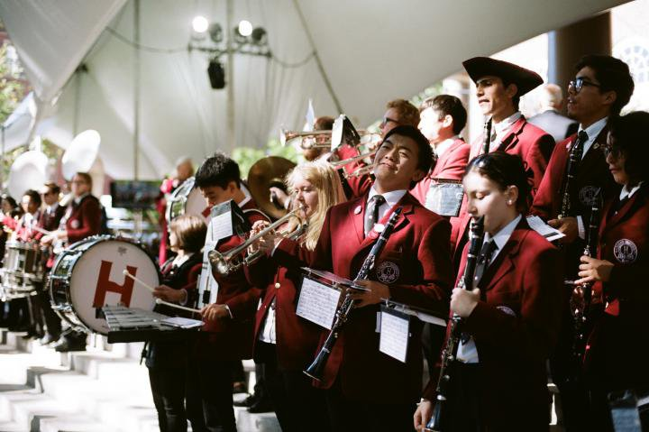 harvard college band