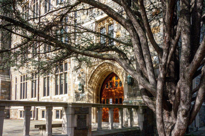 View of Georgetown campus