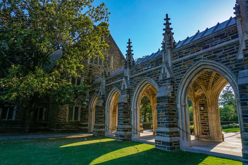 Duke supplemental essays image: a photo of Duke University's campus