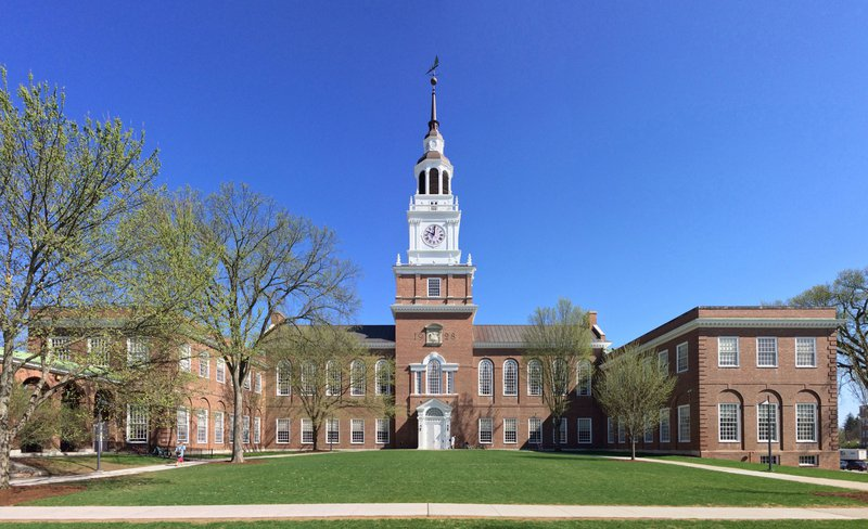 Dartmouth supplemental essays image: a photo of Dartmouth college  campus