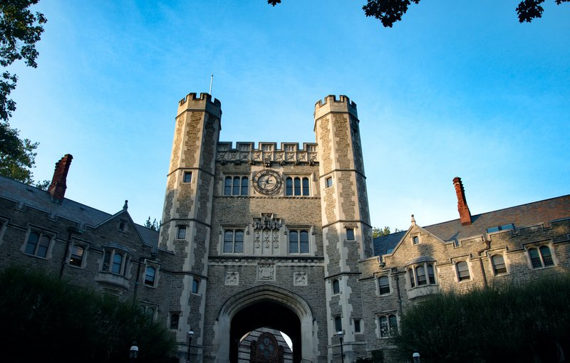 Classic architecture at Princeton University in New Jersey.