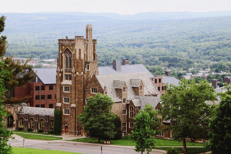 View of Cornell University