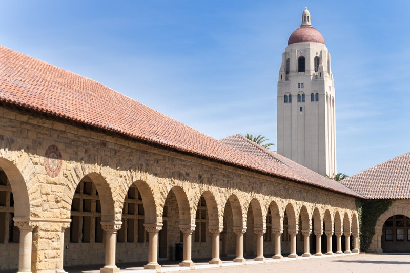 stanford supplemental essays guide image: a building on Stanford's campus