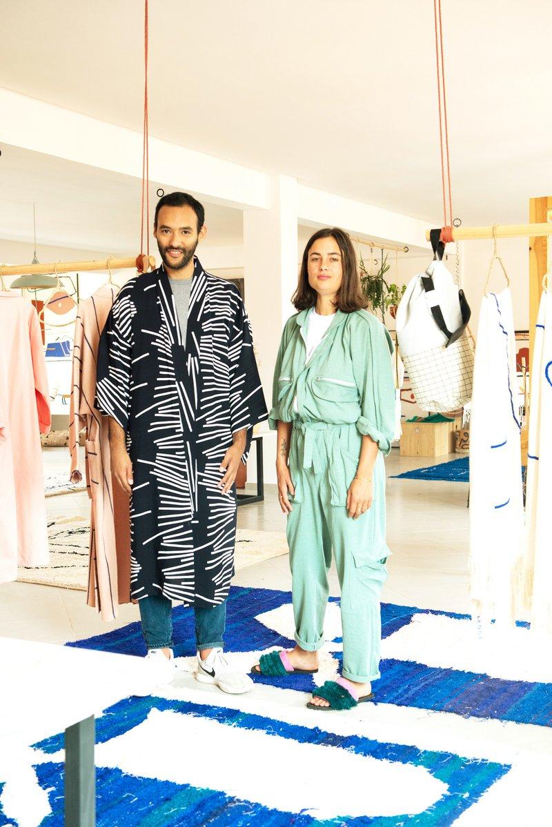 Les coulisses du studio de design LRNCE à Marrakech