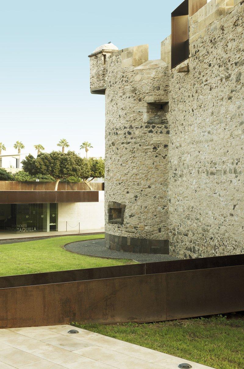 Ancien fort transformé en musée au coeur de Las Palmas