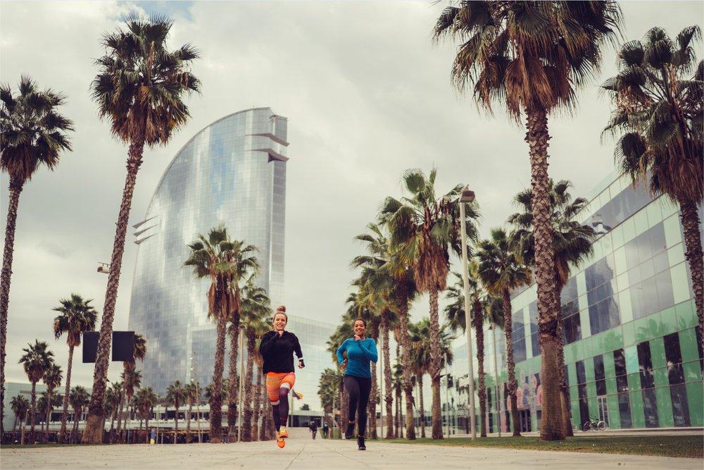 5 x joggen langs het water