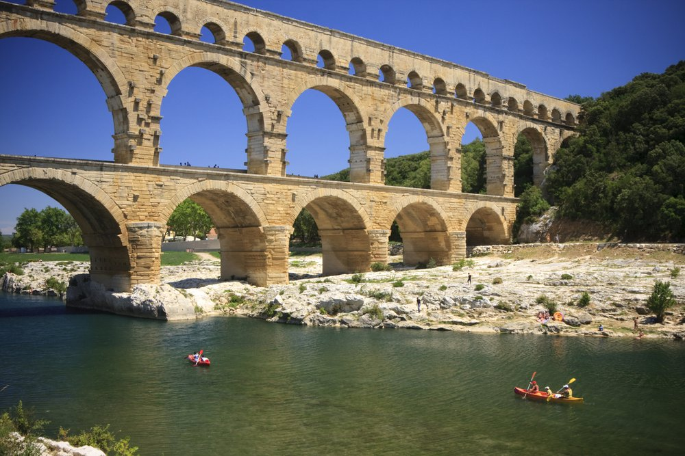 10 machtige aquaducten om te ontdekken