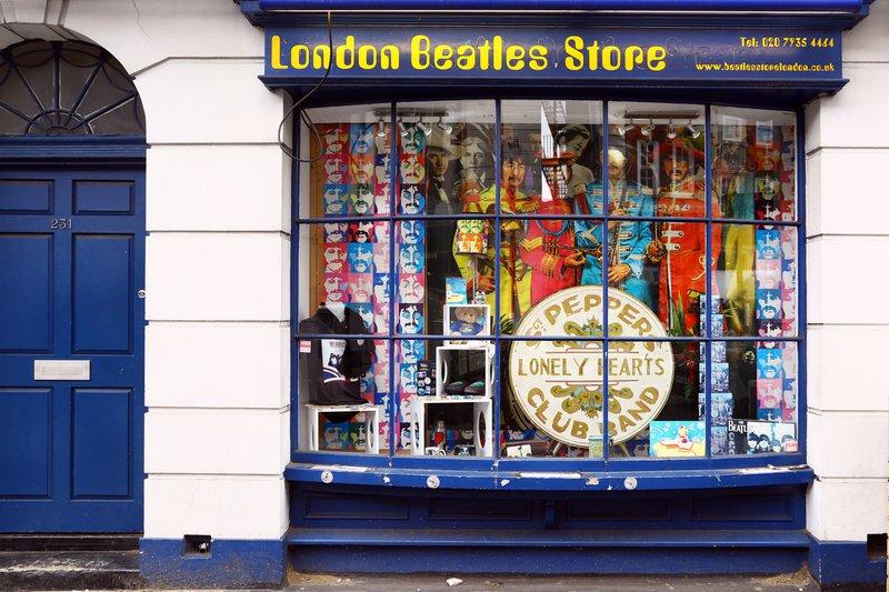 Londres pour les fans des Beatles