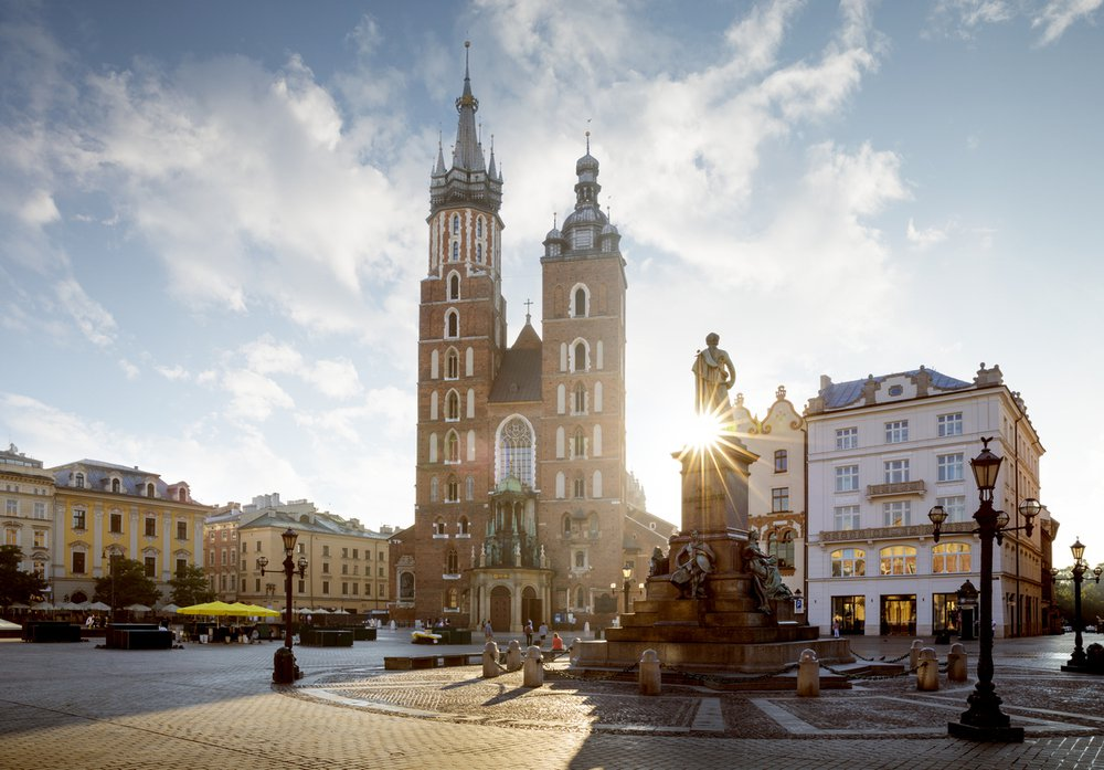 Pologne: de Varsovie à Cracovie