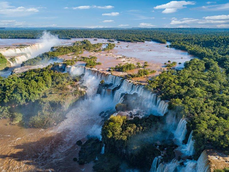 Les 7 plus belles chutes d'eau au monde - Brésil Argentine