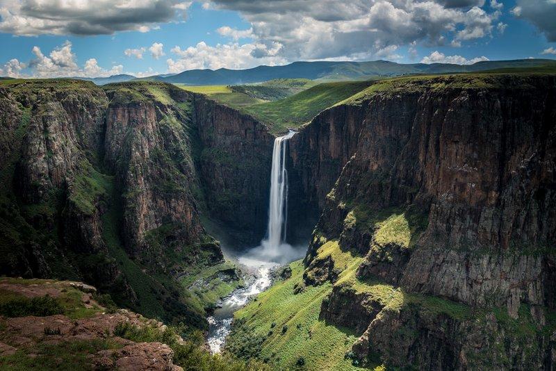 Les 7 plus belles chutes d'eau au monde - Lesotho, Afrique