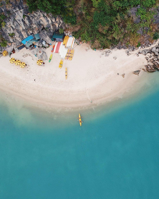 Het water op in Vietnam