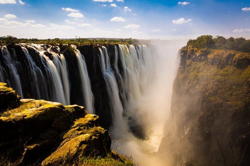 Les 7 plus belles chutes d'eau au monde - Zimbabwe