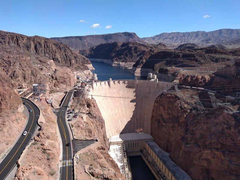 Hoover Dam near Boulder City Nevada, 45 minutes from Las Vegas.